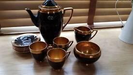 Carlton ware coffee set