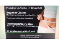Pilates classes in Ipswich