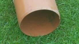 6 inch underground pipe