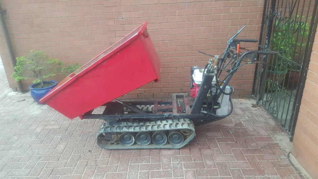 Refurbish Honda tracked dumper power barrow