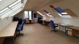 Attic Studio Office for Rent