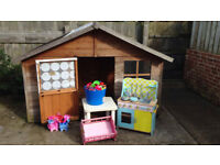 OutDoor Play House and Toys.
