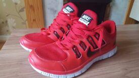 Nike Free Run 5.0 Red Men's running shoes
