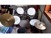 Used drum kit