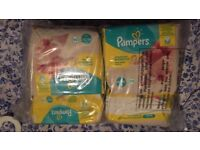 Pampers Premium Protection New Baby - Micro diapers - BRAND NEW 6 packs of 24 diapers