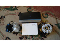 BT internet broadband fibre dsl router modem kit bt home hub 5 in as new condition
