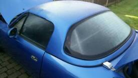 Mx5 hardtop laguna blue eunos roadster hard top
