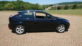 FORD FOCUS 1.8 Zetec 3dr (black) 2008