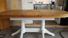 Extendable Rustic Kitchen Table