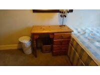 Timber desk for sale