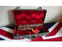 Boost & hawkes alto saxophone 🎷