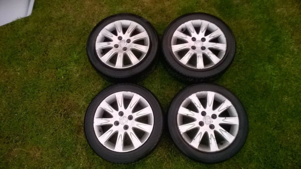 Honda Jazz Mk2 2002 2008 Alloy Wheels Very Good Condition In