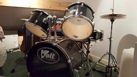 Volt 5 piece drum kit .