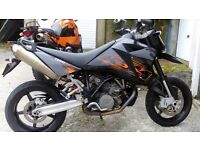 KTM 950 Supermoto. swap or p/x Car....