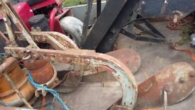 Ferguson 2 furrow plough barn find