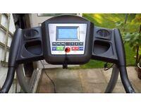 Orbus Leisure foldable motorised treadmill