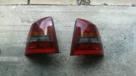 Vauxhall astra mk 4 smoked effect rear lights