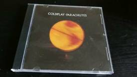 COLDPLAY. PARACHUTES.CD ALBUM