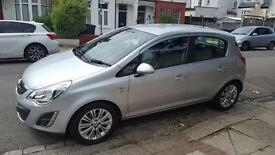 Silver Vauxhall Corsa, 22511 miles, Automatic, Petrol