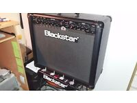 Blackstar ID60 guitar amplifier and 4 button foot controller.