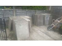 Concrete paving slabs / Ashton under lyne