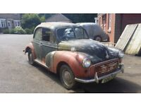 1955 Split Screen Morris Minor Transferable Reg