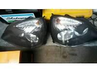 Renault Clio 2001 / 2005 Pair Headlight's / Headlamp's