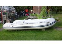 Plastimo rib dinghy PLUS 5hp Mercury outboard motor