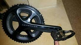 Shimano Ultegra 6800 Chainset & Carbon Spds