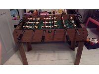 Toys! Football/fooseball table (need gone)