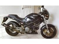 Ducati 750 dark