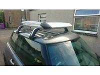 Thuel roof cargo rack and mini roof bars.