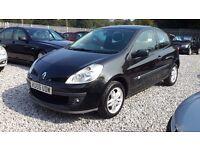 Renault CLIO 1149cc Petrol, Hatchback, Manual, Black, 2006 (06) MotExpires: 08 December 2016
