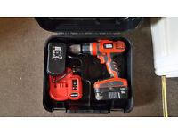 Black and Decker Cordless Drill HP188F4