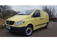Mercedes-Benz Vito 2.1 CDI, 111 COMPACT, SWB, NO VAT, WITH 6 MONTHS WARRANTY, IN SUPERB CONDITION