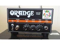 Orange Micro Terror Dark Electric Guitar Tube Amp (Hardly used)