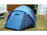 PRO ACTION LARGE 4 BERTH TENT used once
