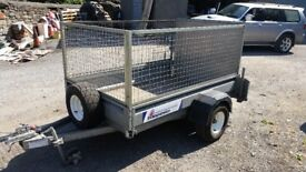 Indispension 750kg caged trailer