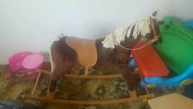 Rocking horse WILL TAKE SENSIBLE OFFERS