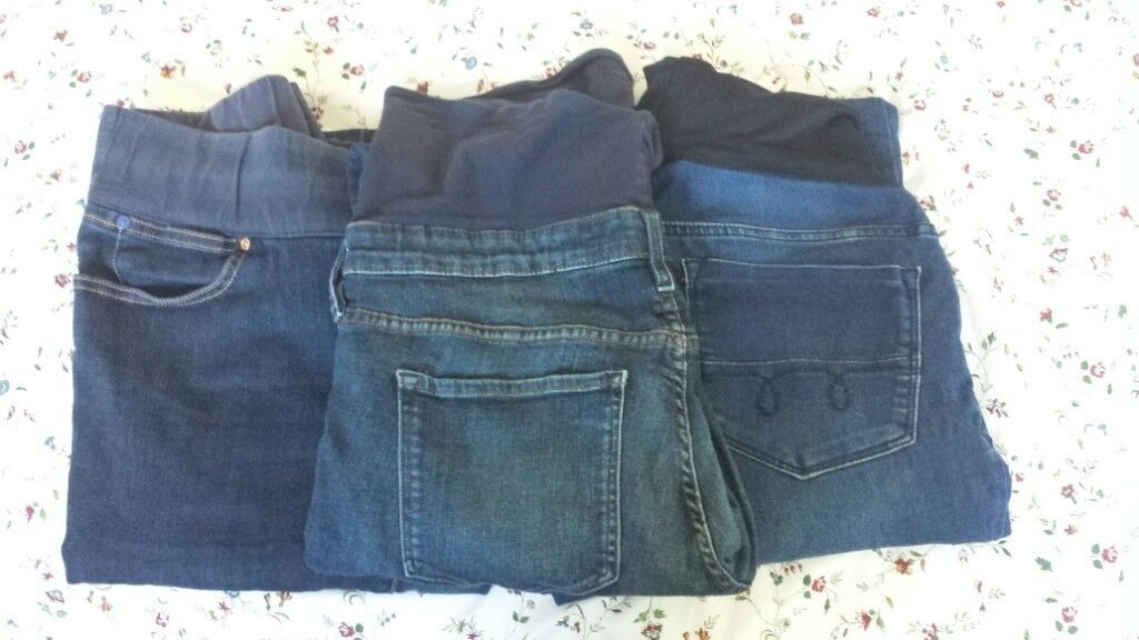 c7afeee960ef4 Maternity size 14-16 jeans bundle:Gap/H&M/Mothercare | in West ...