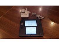 Nintendo Handheld Console 2DS - Black/Blue - Unboxed