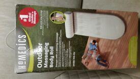 (New in box) HoMedics ODBR-100BL-GB Outdoor Vibration Massage Body Roll