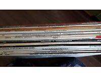 Vinyl records 50's to late 70's