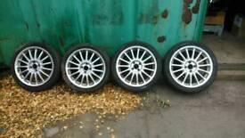 Mg zr 17 inch alloy wheels