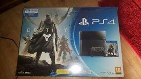 PS4 Bundle ( console & games)