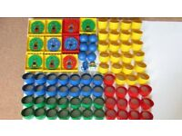 Lego Duplo tubes,doors and balls for Experiment Lego Duplo Education set