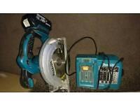 Makita 18v skillsaw, just saw and charger no battery