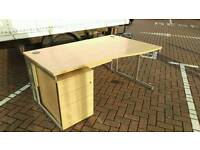 NEARLY NEW DESKS & PEDESTALS - FREE DELIVERY - ASSEMBLY AVAILABLE - BULK DISCOUNTS -