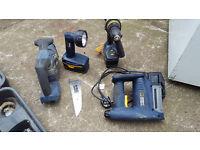 Mac allister Cordless Nail Gun drill torch saw cased Macallister power tools.....£40
