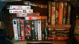 Huge joblot of vhs tapes, well over 250 vhs tapes